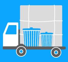 産業廃棄物へ